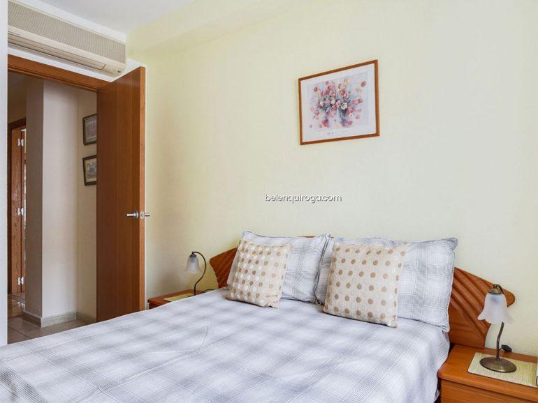 Dormitorio en un apartamento en el puerto de Jávea -  Inmobiliaria Belen Quiroga