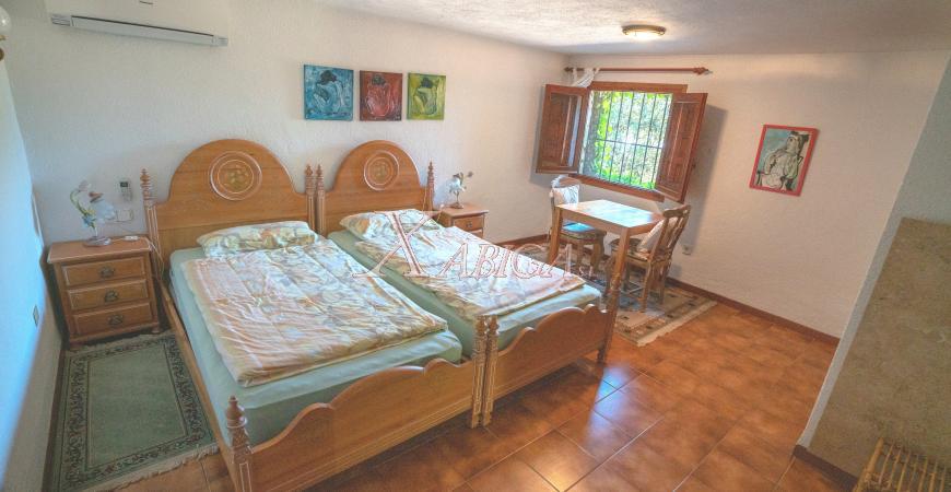 Bedroom in a villa for sale in Jávea - Xabiga Inmobiliaria