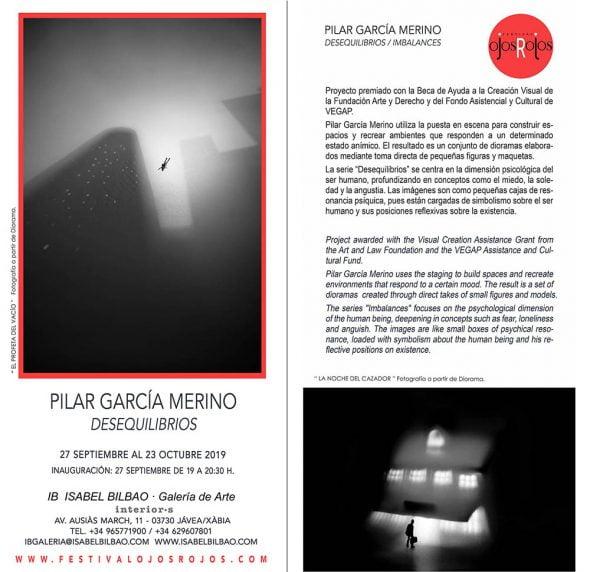 Immagine: mostra Pilar García Merino a Xàbia