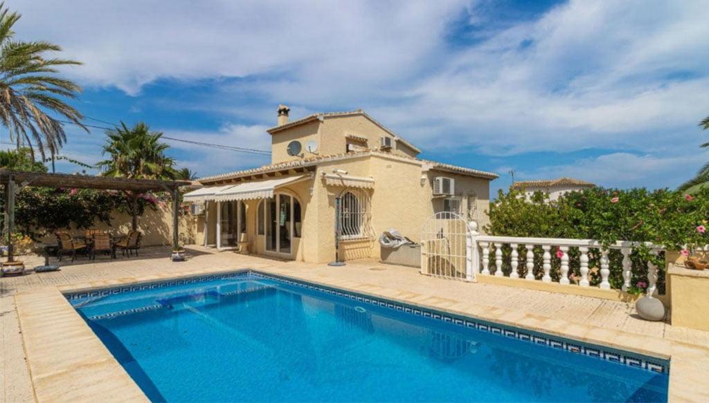 Villa extérieure à vendre dans le secteur Adsubia - Vicens Ash Properties