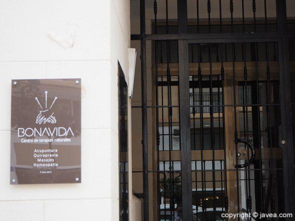 Centro de Terapias Naturales en el puerto de Jávea – BONAVIDA