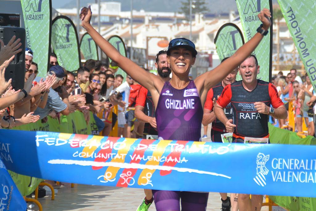 Ghizlanei Assou ganadora del Sprint