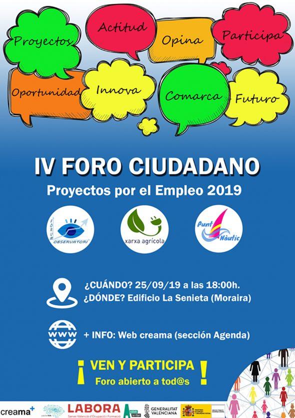 Image: IVe Forum des citoyens sur l'emploi à Marina Alta