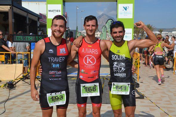 Imagen: Ivars junto a Soler y Traver