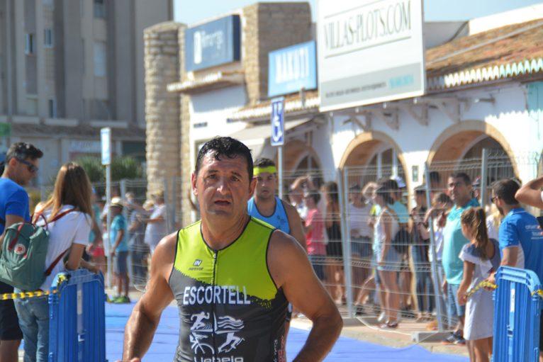 Jaume Escortell durante la prueba
