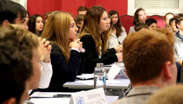 Imagen: Alumnos de The Lady Elizabeth School