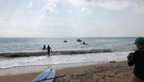 Imagen: Limpieza de la playa