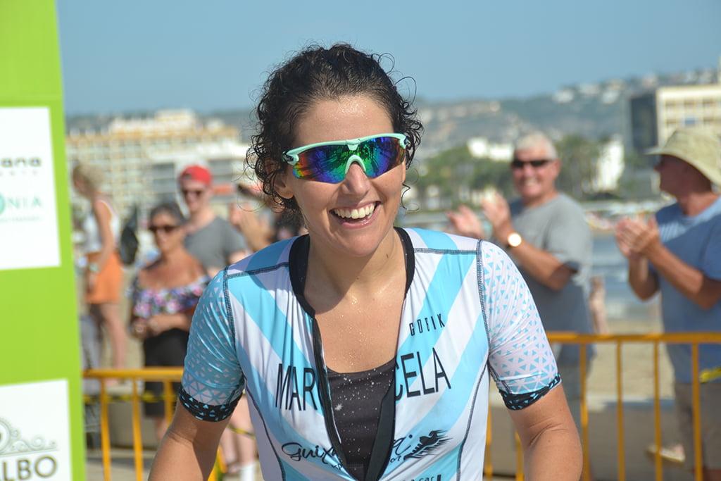 Marcela Juárez segunda en meta