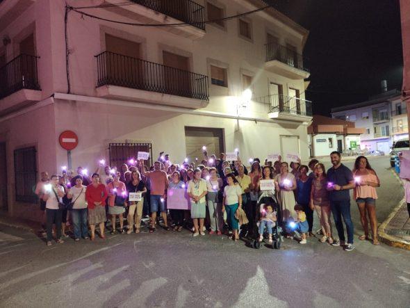 Bild: Benitatxell violette Nacht