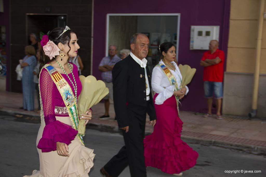 La Casa d'Andalusia en l'ofrena de flors de festes de Loreto