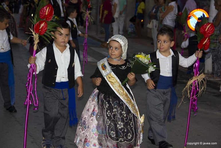 Membres infantils de la Comissió de Festes Mare de Déu de Loreto