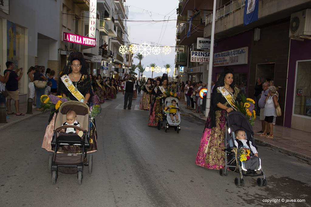 Membres de la Comissió de Festes Mare de Déu de Loreto