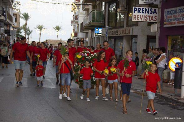 Imagen: Ofrenda de flores Fiestas de Loreto 2019 (8)