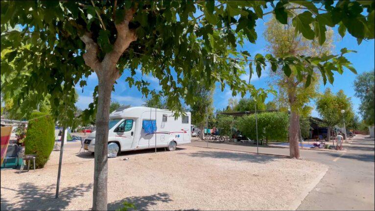 Parcela para caravana - Camping Javea