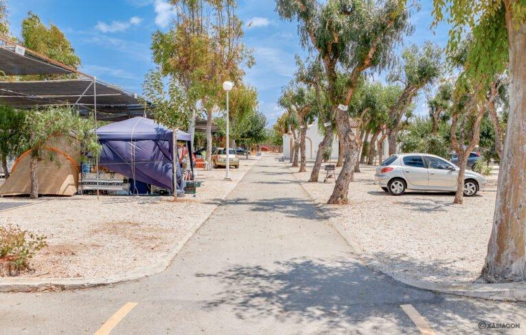 Parcelas camping para vacaciones - Camping Jávea