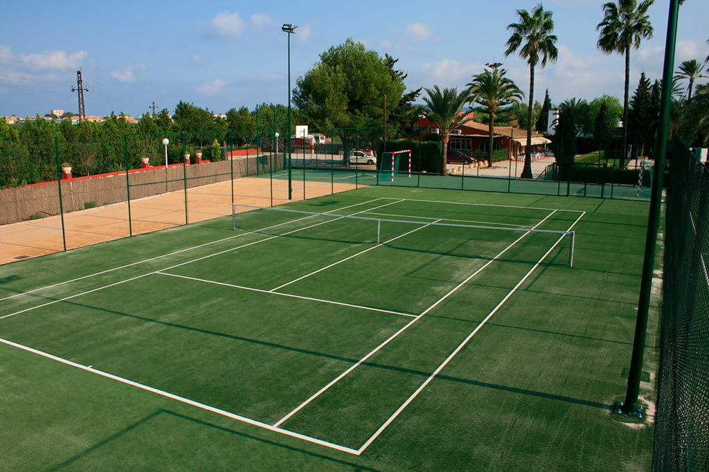 Pista de tenis – Camping Jávea