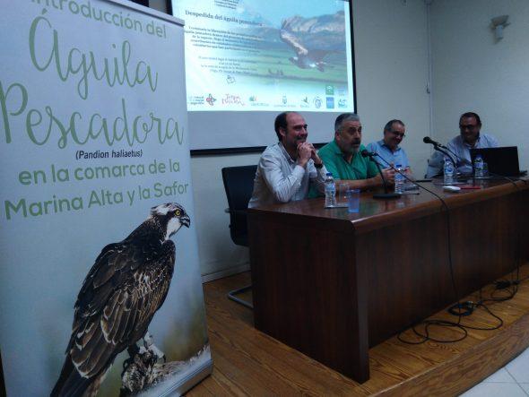 Imatge: Projecte d'introducció de l'àguila peixatera
