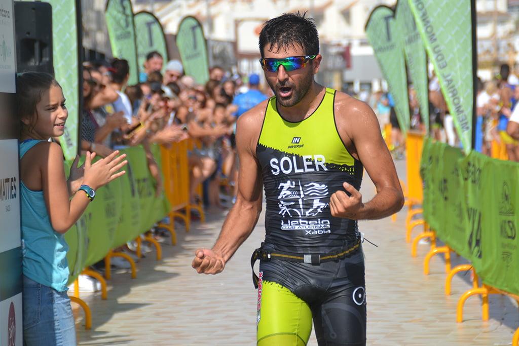 Toni Soler segundo en el sprint