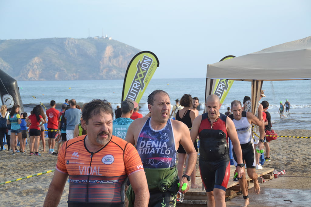 Veterano triatleta del Club Triatló Dénia