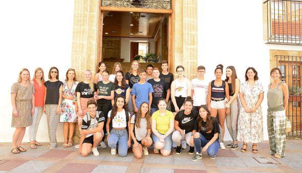 Bild: Besuch deutscher Studenten