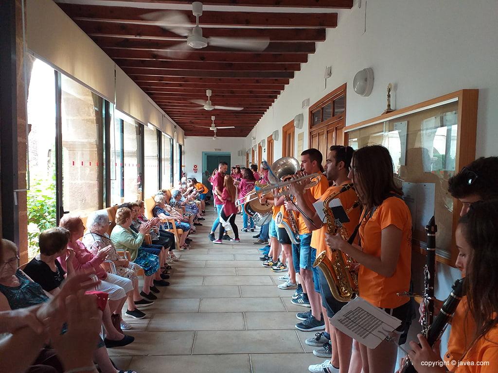 Visita dels majorals al Centre de Dia