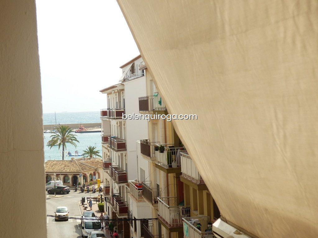 Vistas de um apartamento à venda no porto de Jávea - Inmobiliaria Belen Quiroga
