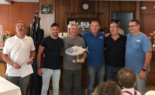 Imatge: Antonio Roselló vencedor del Concurs de Pesca al Currycan de Xàbia