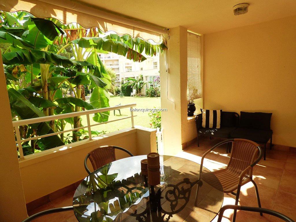 Terraço do apartamento térreo - Inmobiliaria Belen Quiroga