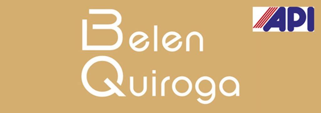 Logotipo imobiliário Belen Quiroga