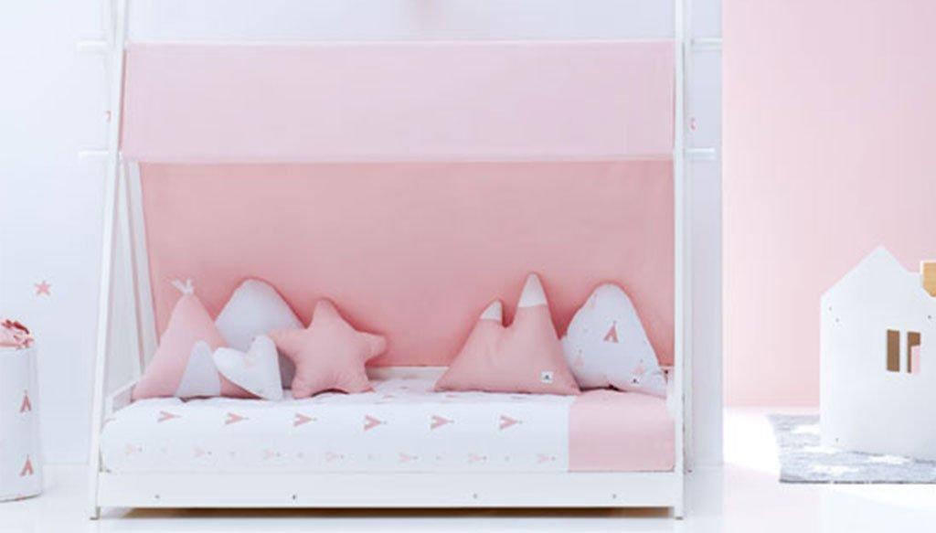 Llit Montessory Homy rosa - Mobles Martínez