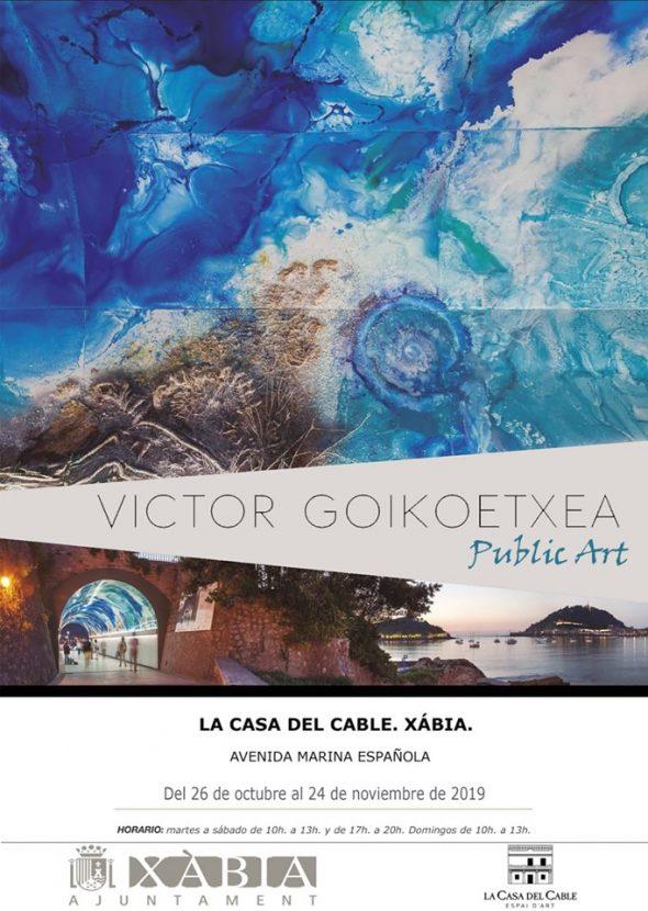 Imatge: Cartell de l'exposició de Víctor Goikoetxea