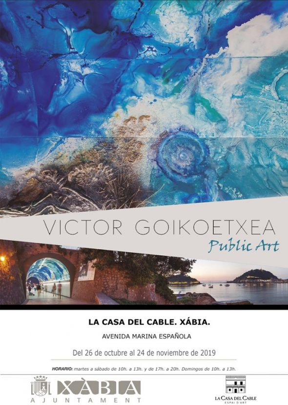 Image: Víctor Goikoetxea exhibition poster