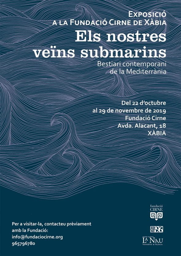 Image: Poster of the exhibition on seabed at the Cirne Funación
