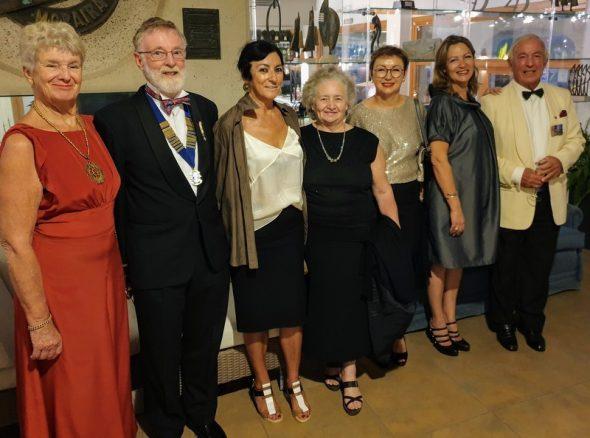 Imagem: Celebração do aniversário do 25 do Lions Clube