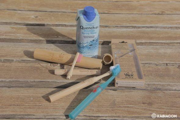 Bild: Umweltfreundliche Zahnbürste, die von Graham Smith erfundene Wassereinsparungen ermöglicht