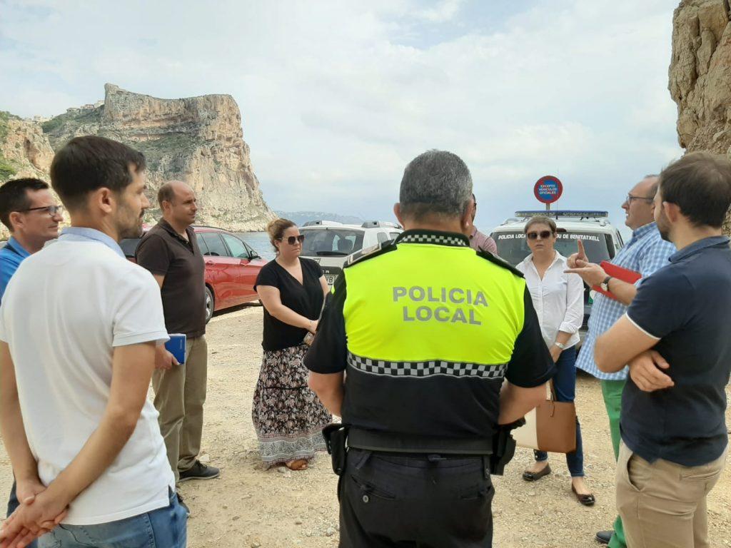 Comisión de trabajo de El Poble Nou de Benitatxell para mejorar el Moraig
