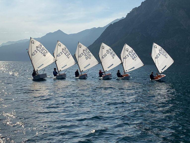 Concentration à Garda, Italie