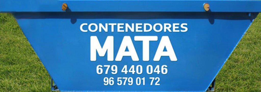 Logotipo Contenedores Mata