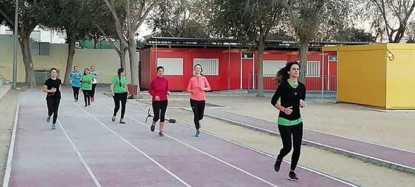 Imatge: Entrenament gratuït per a la cursa de la Dona al Club llebeig
