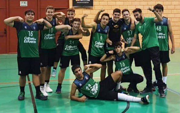 Image: Équipe junior de CB Joventut Xàbia