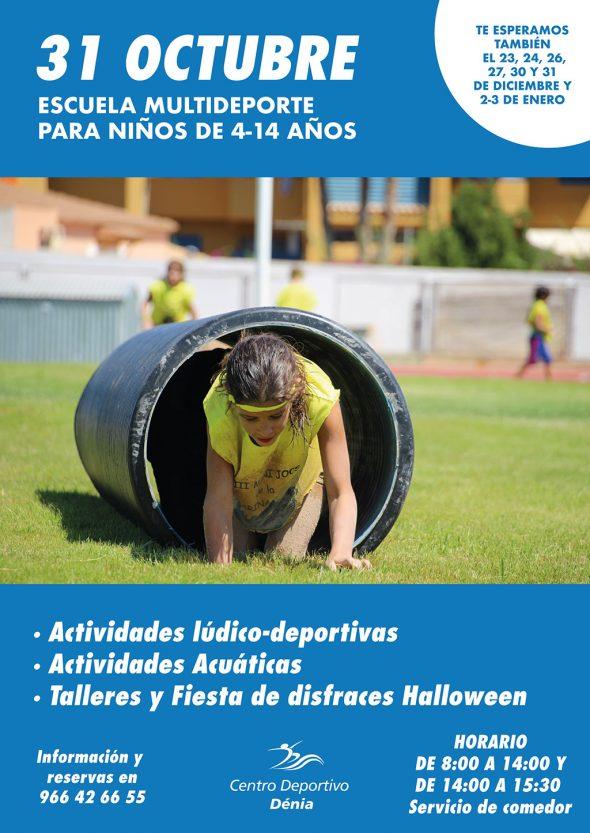 Imagen: Escuela Multideporte del Centro Deportivo Dénia