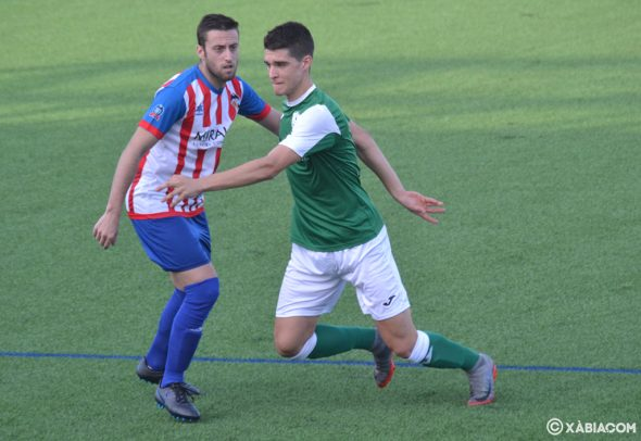 Image: Ferrán in the match against Pego