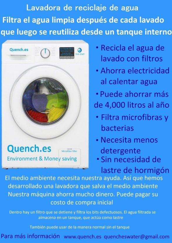 Bild: Graham Smith erfindet eine Waschmaschine, die Waschwasser recycelt