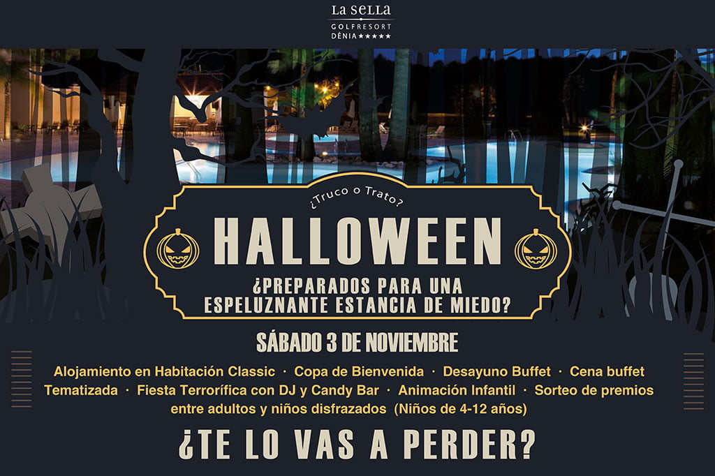 Fiesta de Halloween en el Hotel Dénia Marriott Golf Resort & Spa