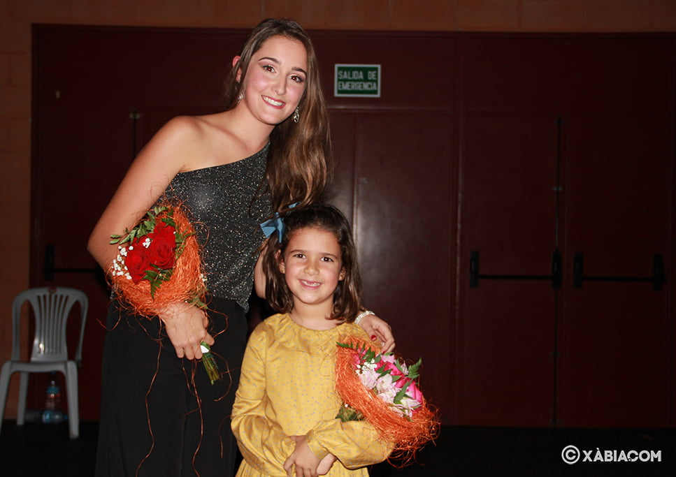 Marta and Ariadna, Queens of Fogueres de Sant Joan 2020