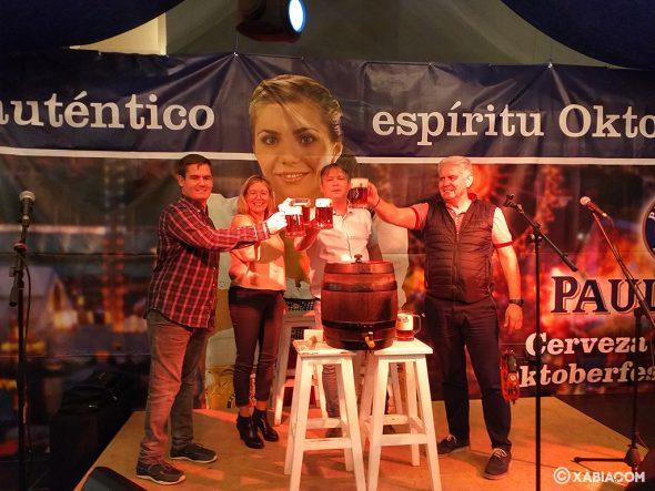 Afbeelding: Inhuldiging van het Oktoberfest 2019 in Xàbia