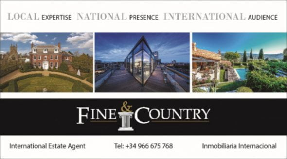 Imagem: Logo Fine & Country Costa Blanca North