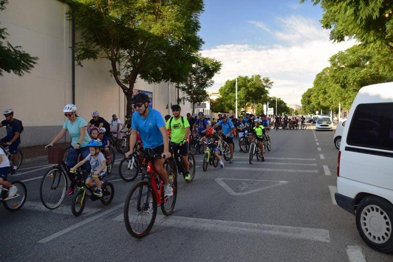 Maart op de Xàbia-fietsdag