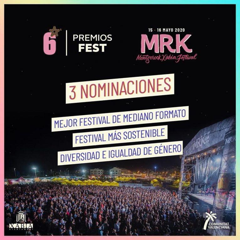 Nominaciones del Montgorock