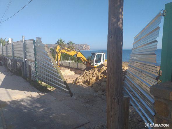 Image: travaux sur la parcelle de Segundo Montañar